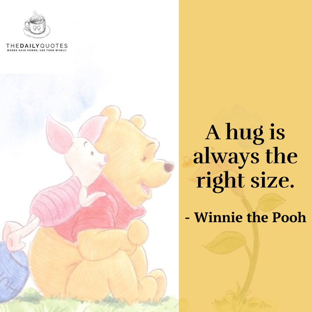 A hug is always the right size.