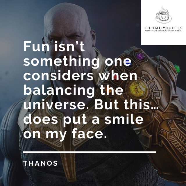 Fun isn't something one considers when balancing the universe. But this… does put a smile on my face.