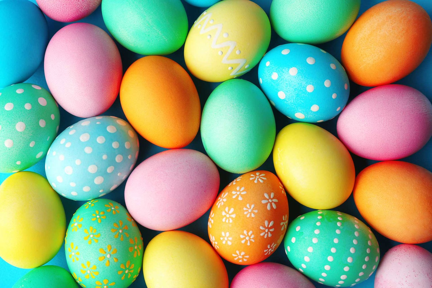 easter-eggs feat