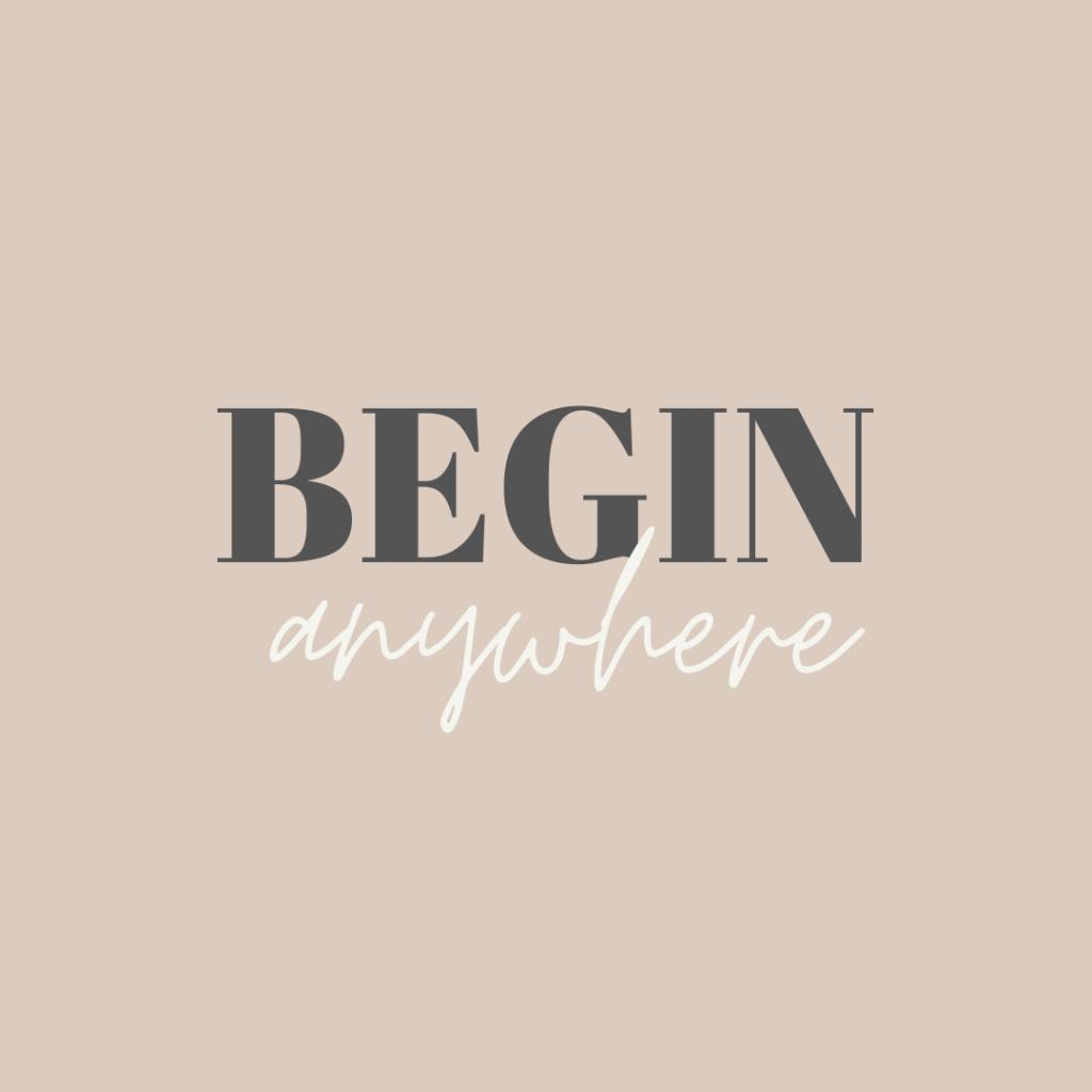 Beige and Gray Minimalist Quote Instagram Post